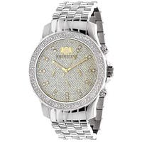 Luxurman Men's 1/4 ct Diamond Watch