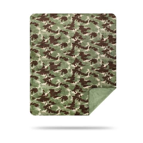 Denali Camouflage Sage/Sage Blanket