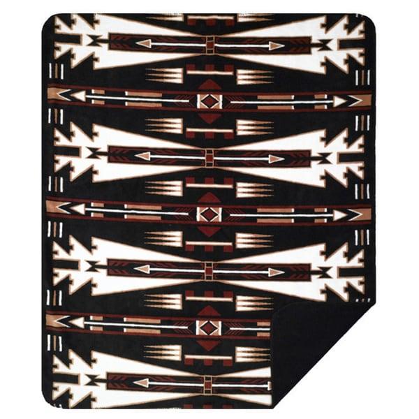 Denali Horse Thieves Black/Black Blanket - N/A - 60x50