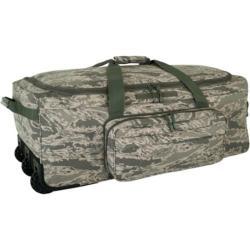 Mercury Luggage Digital Camo Deployment Wheeled Duffel Bag