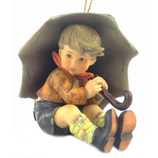 M I Hummel Umbrella Boy Ornament