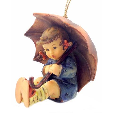 M I Hummel Umbrella Girl Ornament