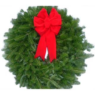 Fresh Balsam Maine 16-inch Wreaths (Set of 10)