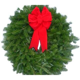 Fresh Balsam Maine 16-inch Wreaths (Set of 10)
