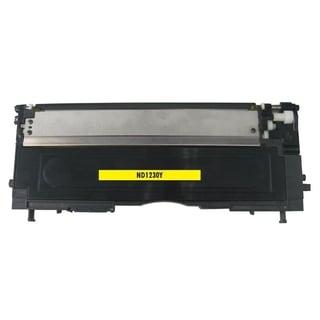INSTEN Yellow Toner Cartridge for Dell 1230/ 1235