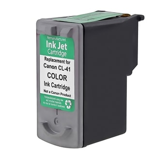 Insten Color Remanufactured Ink Cartridge Replacement for Canon CL-41/ 41