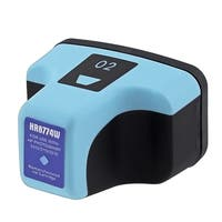 Insten Light cyan Remanufactured Ink Cartridge Replacement for HP C8774WN/ 2