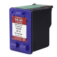 Refilled Insten Color Remanufactured Ink Cartridge Replacement for HP C6657A/ 57