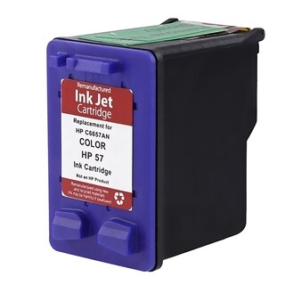 Insten Color Remanufactured Ink Cartridge Replacement for HP C6657A/ 57