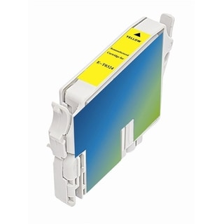 INSTEN Epson T032420 Yellow Ink Cartridge (Remanufactured)
