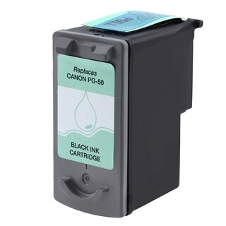 Insten Black Remanufactured Ink Cartridge Replacement for Canon PG-50/ 50