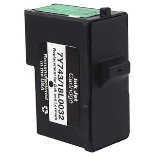 INSTEN Lexmark 82/ Dell 7Y743 Black Ink Cartridge (Remanufactured)