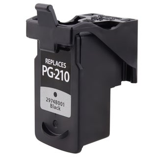INSTEN Canon PG-210XL Single Black Ink Cartridge (Remanufactured)