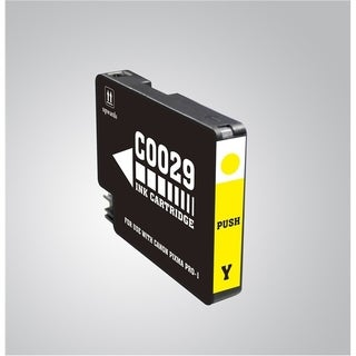 Refilled Insten Yellow Non-OEM Ink Cartridge Replacement for Canon PGI-29Y/ 29 Y