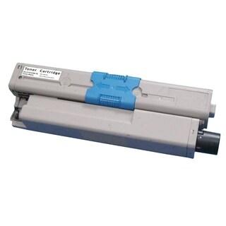 Insten Premium Black Color Toner Cartridge 44469801 for Okidata C330/ C330dn/ MC351/ MC361