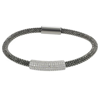 Journee Collection Italian Sterling Silver Cubic Zirconia Bracelet