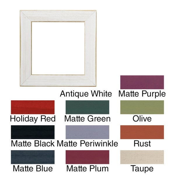 Shop Hand Painted 6x6 Wooden Frame Free Shipping On Orders Over