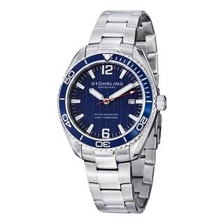 Stuhrling Original Men's Regatta Endeavor Swiss Quartz Bracelet Bracelet Watch