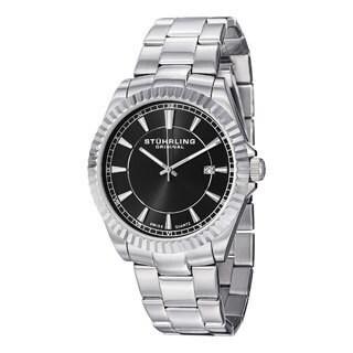Stuhrling Original Men's Marine Swiss Quartz Bracelet Bracelet Watch