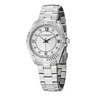Stuhrling Original Women's Lady Nautic Swiss Quartz Bracelet Bracelet Watch
