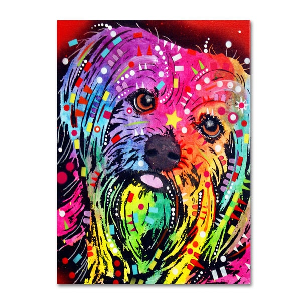 Dean Russo 'Yorkie' Canvas art