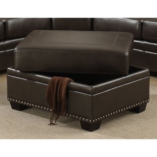 Link to Louis Storage Ottoman Similar Items in Living Room Furniture