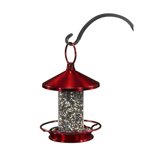 Classic Ruby Perch Bird Feeder