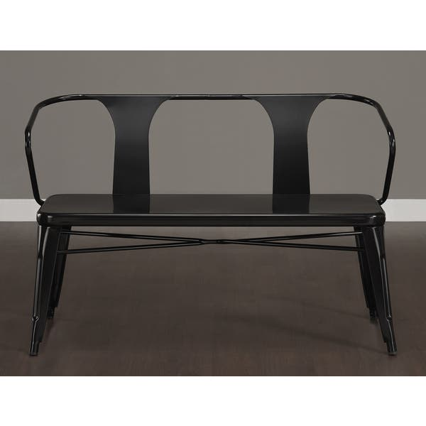 Prime Shop Metal Dining Bench With Back Free Shipping Today Squirreltailoven Fun Painted Chair Ideas Images Squirreltailovenorg