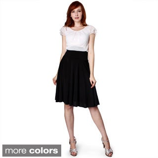 Evanese Women's Two-tone Pleated Full-Circle Dress|https://ak1.ostkcdn.com/images/products/8546391/P15825254.jpg?_ostk_perf_=percv&impolicy=medium