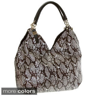 Buxton Margaret Leather Hobo