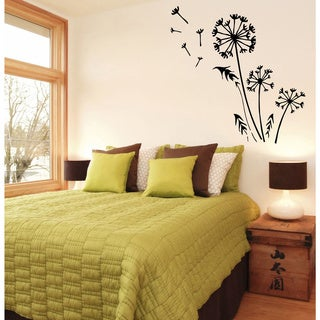 Dandelion Vinyl Wall Decal