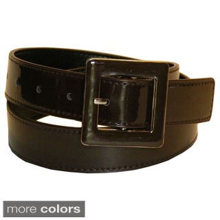 Women's Patent Leather Dress Belt