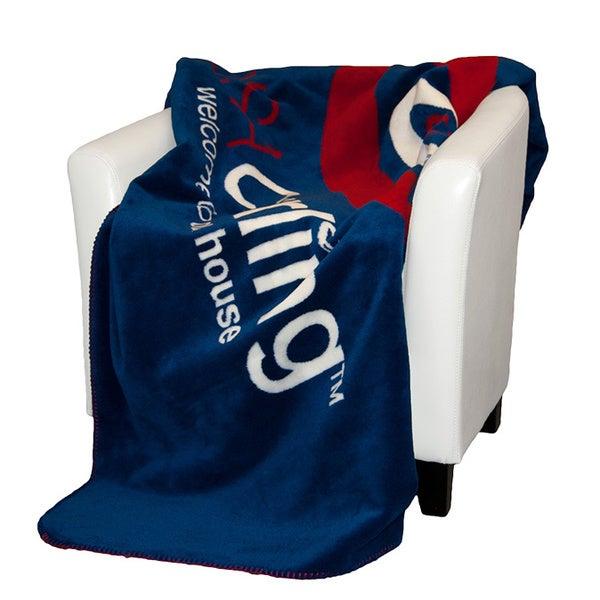 Denali USA Curling Logo Throw Blanket