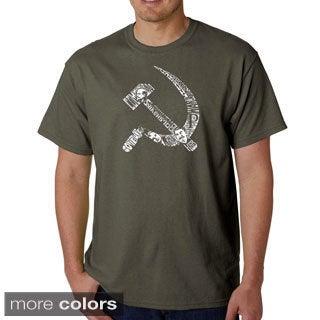 Los Angeles Pop Art Men's 'USSR' T-shirt