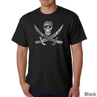 Los Angeles Pop Art Men's Pirate Pictures T-shirt