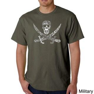 Los Angeles Pop Art Men's Pirate Pictures T-shirt