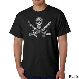 Los Angeles Pop Art Men's Pirate Pictures T-shirt (More options available)