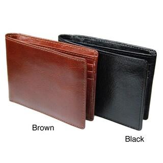 Castello Italian Leather Bi-fold Wallet