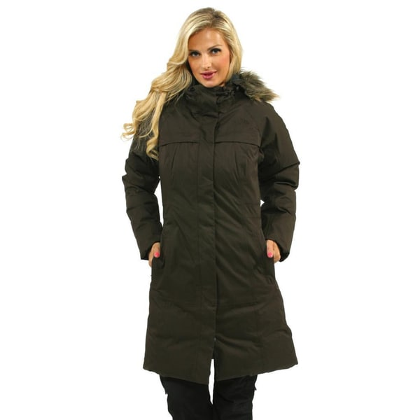 01725570e Shop The North Face Women's Bittersweet Brown Arctic Parka - Free ...