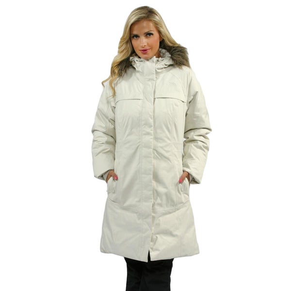 shop the north face women 39 s vintage white arctic parka. Black Bedroom Furniture Sets. Home Design Ideas