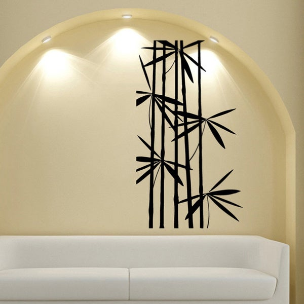 Bamboo Vinyl Wall Decal & Shop Bamboo Vinyl Wall Decal - Free Shipping On Orders Over $45 ...
