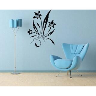Floral Ornament Vinyl Wall Decal