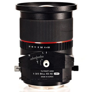 Rokinon 24mm T3.5 Aspherical Tilt-Shift Lens