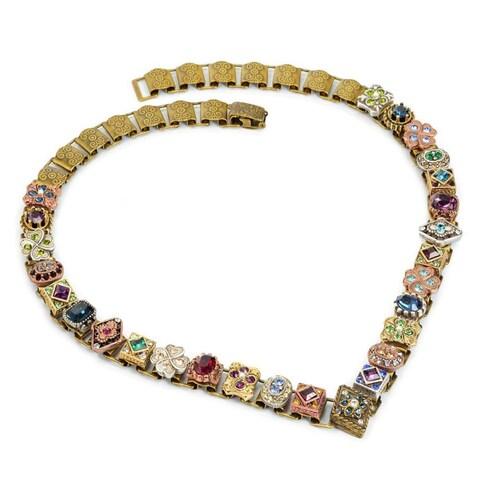 Sweet Romance Renaissance Canterbury Vintage Vee Necklace