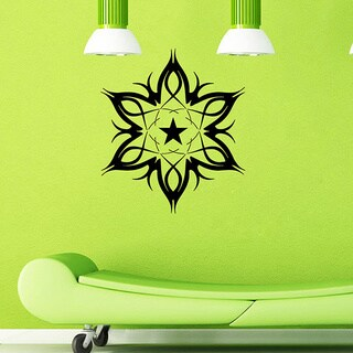 Abstract Star Wall Vinyl Decal