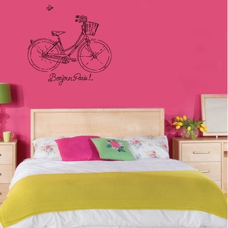 Bicycle Vinyl Wall Decal