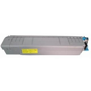 Insten Premium Yellow Color Toner Cartridge 44059109 for Okidata C830