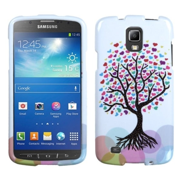 INSTEN Love Tree Phone Case Cover for Samsung i537 Galaxy S4 Active