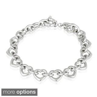 Mondevio Heart Link Bracelet