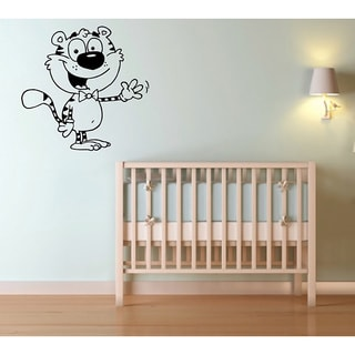 Cartoon Tiger Vinyl Wall Decal